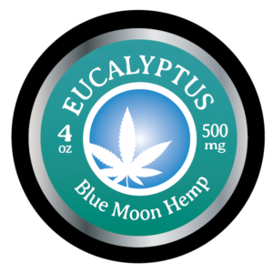 CBD Salve 4oz Eucalyptus - CBD pain relief cream