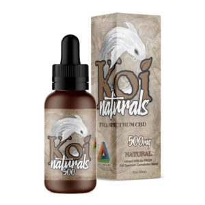 Koi Full Spectrum CBD Oil - Natural - 500mg CBD