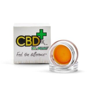 CBDfx RAW Wax Dabs - 300mg - 1 Gram CBD dabs