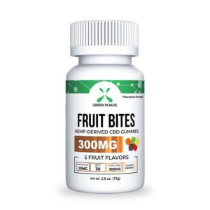Green Roads 300mg Fruit Bites - CBD Edibles