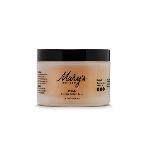 Mary's Nutritionals Skin Care – Polish – Dead Sea Salt Body Scrub