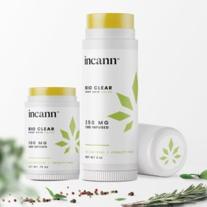 Incann Bio Clear CBD Salve Lifestyle