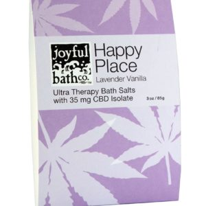 Joyful Bath Co Happy Place - Lavender Vanilla CBD Bath Salts
