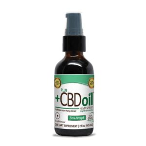 PlusCBD Oil™ CBD Spray Unflavored 500mg