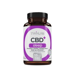 Twinlab CBD+ Sleep Capsules 15mg
