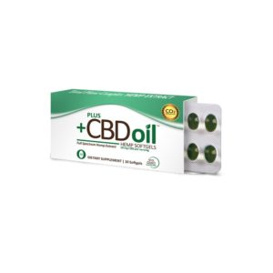PlusCBD Oil™ Total Plant CBD Softgels 10mg 10 Count