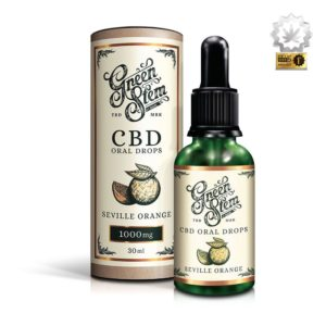 Green Stem CBD Oil Oral Drops Seville Orange 1000mg