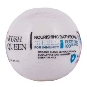 Kush Queen Shield For Immunity CBD Bath Bomb