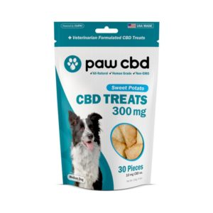 cbdMD CBD Dog Treats 30 Count Sweet Potato 300mg