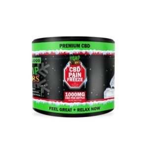 Hemp Bombs High Potency CBD Pain Freeze Rub 1000mg 4oz