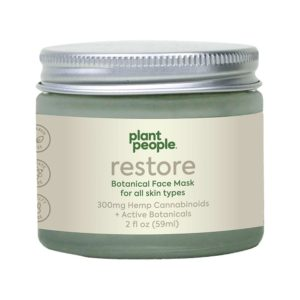 Plant People CBD Restore Face Mask 300mg