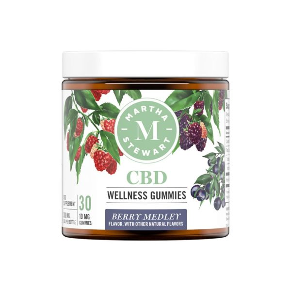Martha Stewart CBD Gummies - Berry Medley 10mg 30 Count