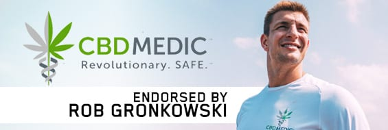 CBD Medic: Endorsed by Rob Gronkowski
