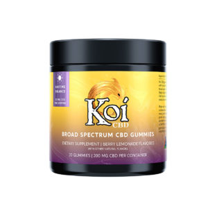 Koi CBD Gummies - Anytime Balance - Berry Lemonade 10mg 20 Count